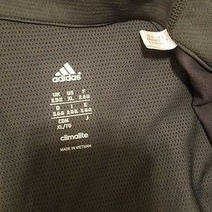 adidas Jackets & Coats - Adidas Climalite Jacket Charcoal Gray XL